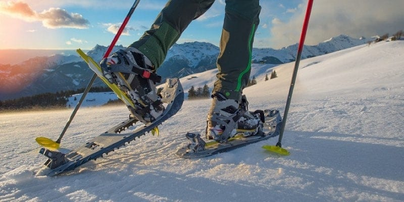 best snowshoes for all conditions snow
