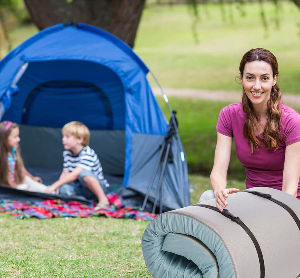 Roll Up Mattress for Camping