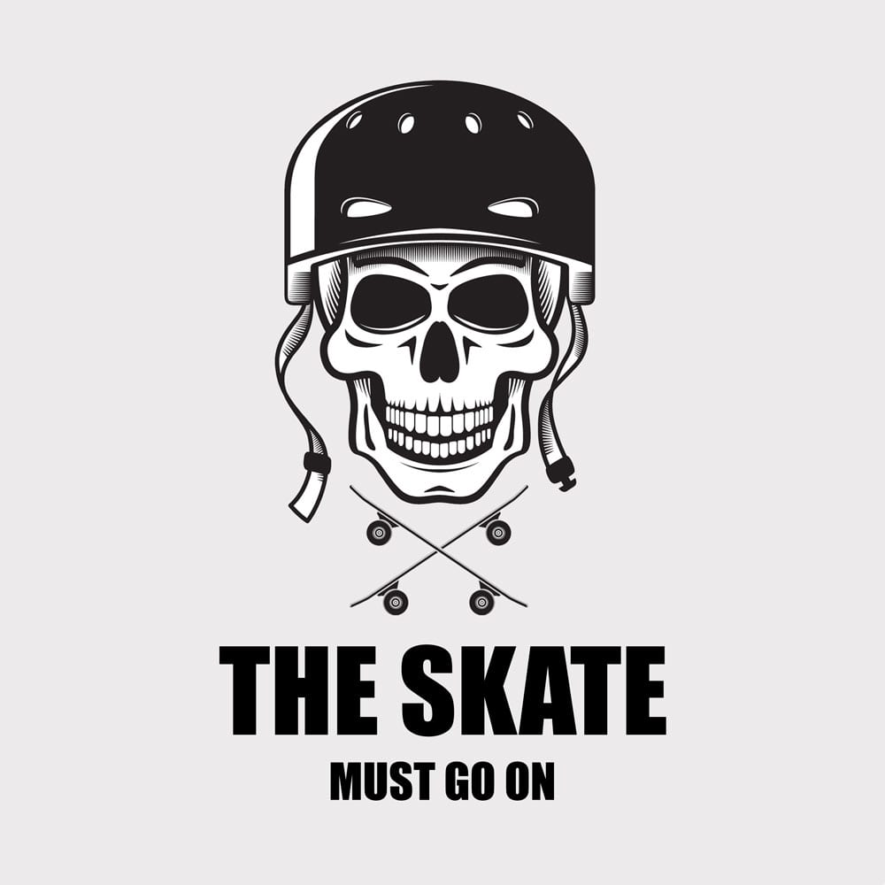 the skate must go on